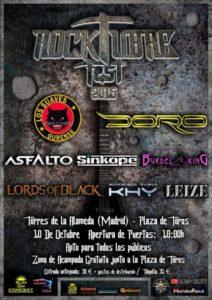 Rocktubre Fest - Cartel HD Actualizado