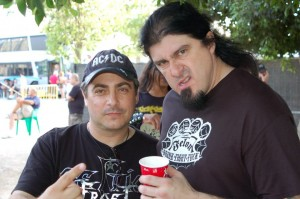 con Frank Watkins (Obituary - Gorgoroth)