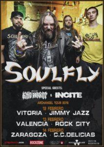 soulfly españa 2016