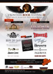 FRONTIERS ROCK FESTIVAL