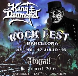 King Diamond Rock Fest 2016