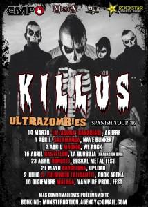 killus 2016 tour