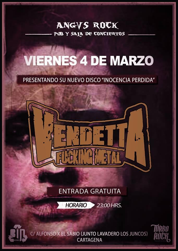Vendetta Fucking Metal Cartagena
