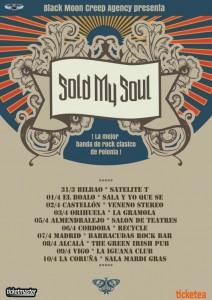 sold my soul gira española