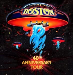 Boston Tour 40 Aniversario