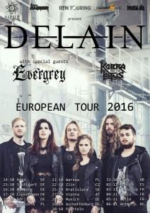 Delain tour