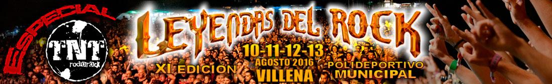 Especial Leyendas del Rock 2016 - TNT Radio Rock