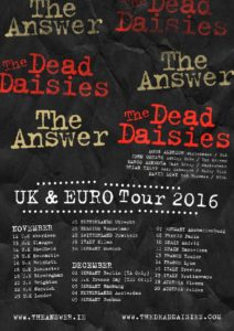 The dead daisies The answer