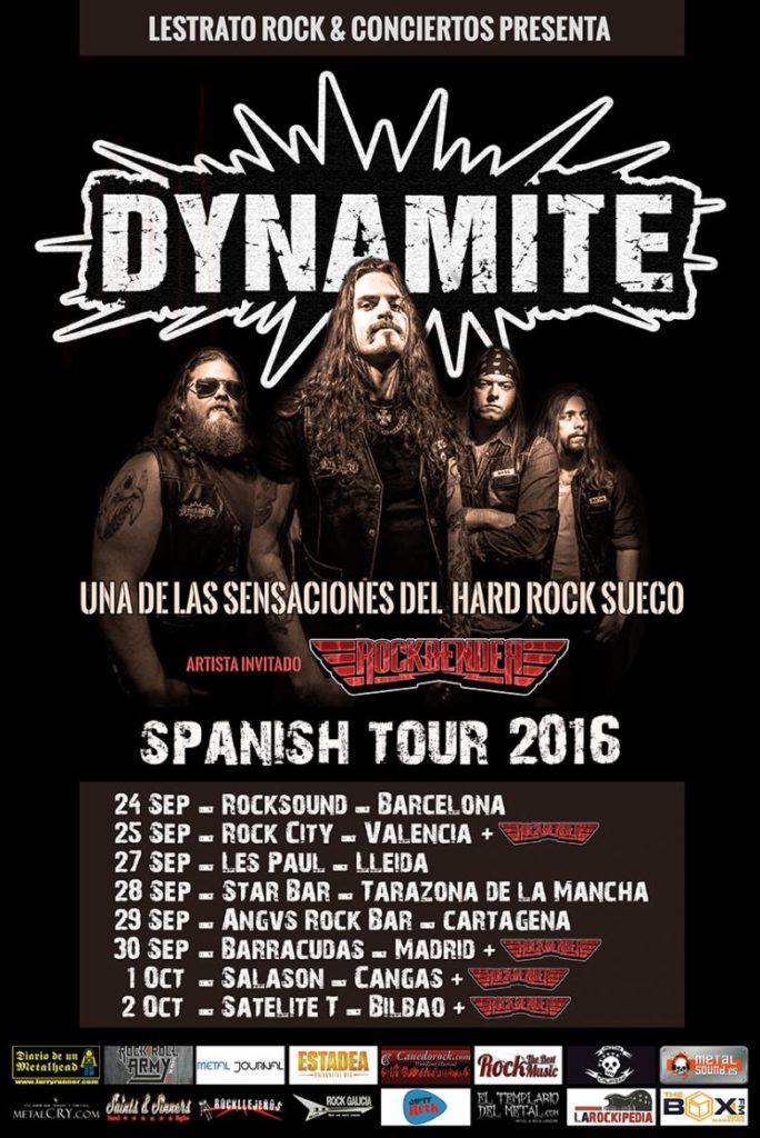 Dynamite tour españa