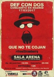 def condos. que no te cojan sala Arena 2017