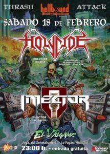 HOLYCIDE+INJECTOR El Válgame 18.Feb.2017