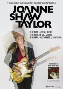 Joanne Shaw Taylor. gira 2017