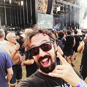Javier Caro - Colaborador de TNT Radio Rock