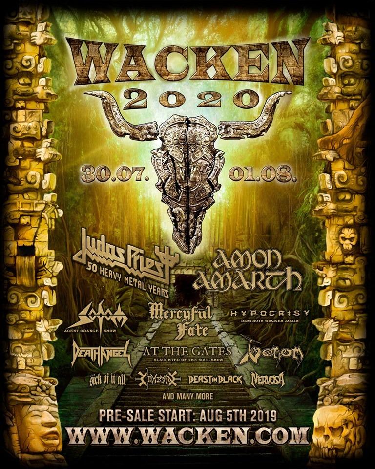 Wacken 2020 primeras confirmaciones