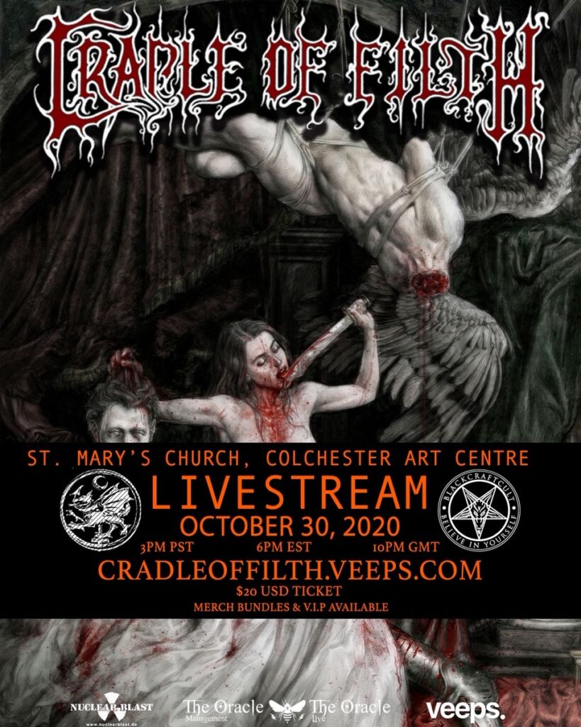 Cradle-Of-Filth - Livestream